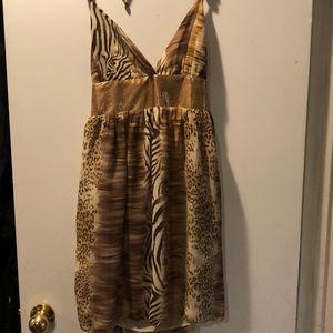 Dresses & Skirts - Animal print sundress